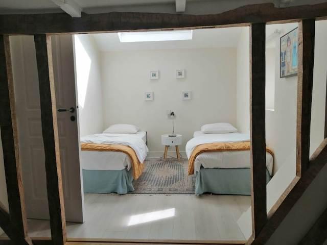 Les malis - Chambre Douce Sonnante - lits simples