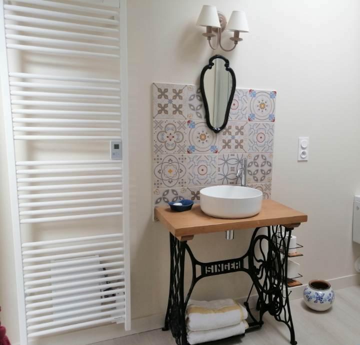 Les malis - Chambre Douce Sonnante - salle de bain